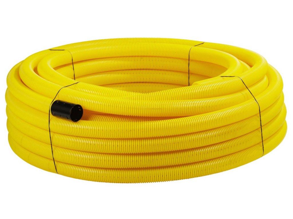 Drenážní roura plastová žlutá DN65 ACO FRÄNKISCHE /531.00.065/ | Stavebniny  Janík